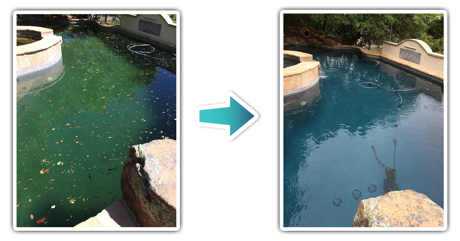 Pool Cleaning Boerne Texas